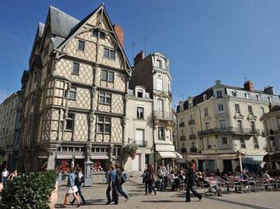 In de buurt van Angers