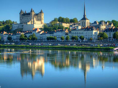 In de buurt van Saumur